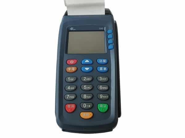 دستگاه کارتخوان سیار pax s90 (صفحه رنگی)